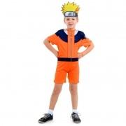 Fantasia Naruto Infantil Curta