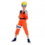 Fantasia Naruto Infantil Longa