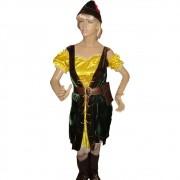 Fantasia Robin Hood Feminina Luxo - Adulto