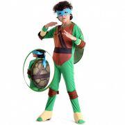 Fantasia Tartarugas Ninjas Leonardo - Infantil