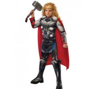 Fantasia Thor Muscle Chest Longa - Infantil