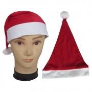 Gorro Papai Noel Veludo