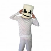 Kit Dj Marshmallow - Fantasia a Máscara Adulto