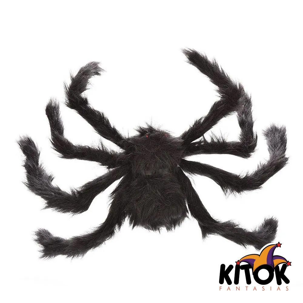 Aranha para decoração de festa peluda - Tamanho GG
