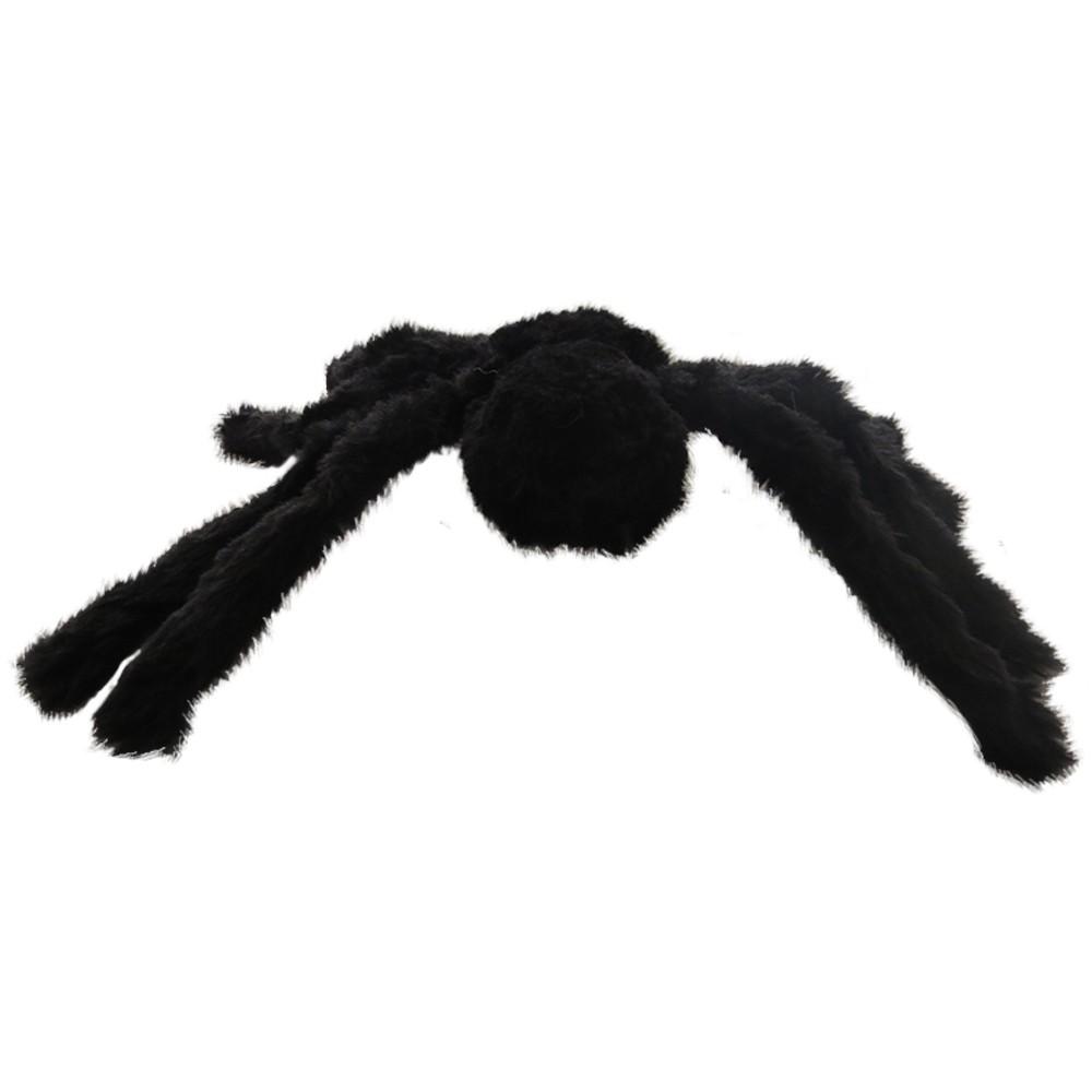 Aranha para decoração de festa peluda  - Tamanho P - Halloween