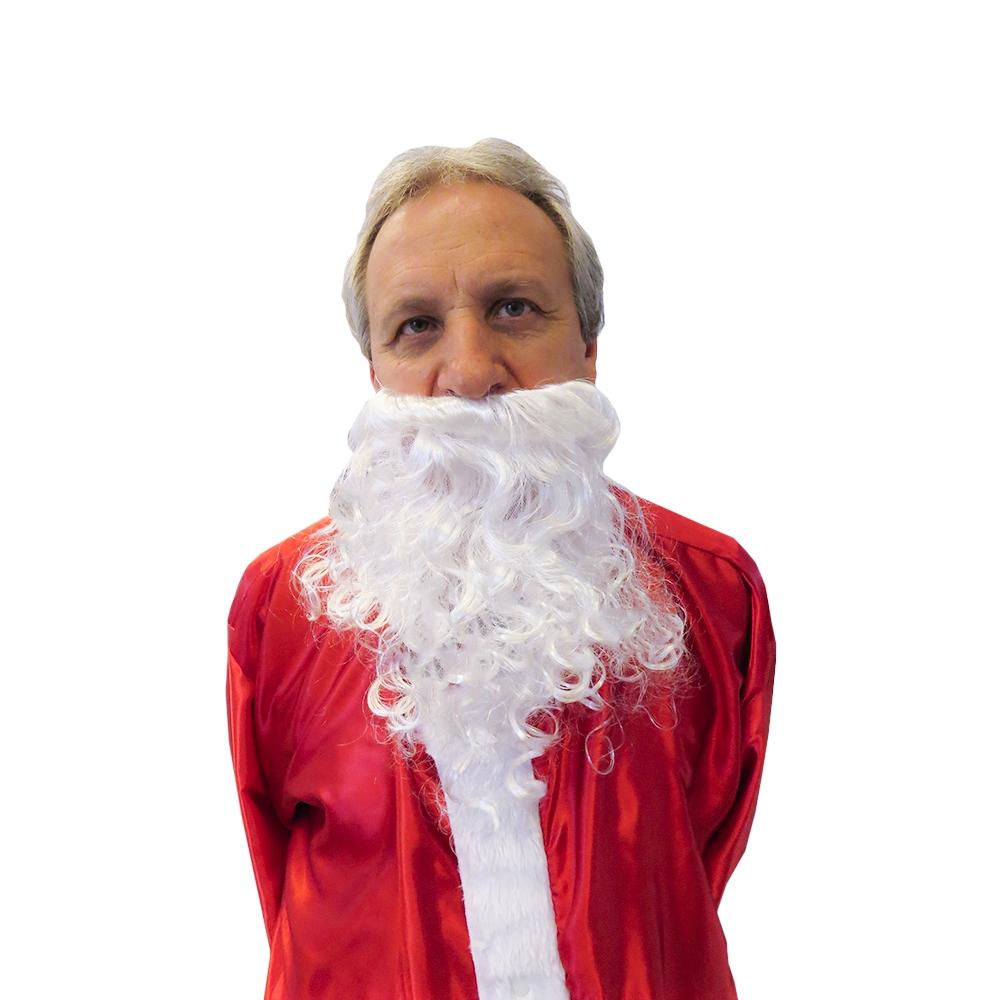 Barba Papai Noel Curta 22cm