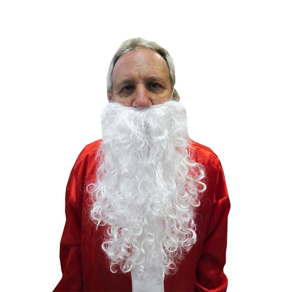 Barba Papai Noel Longa 48cm