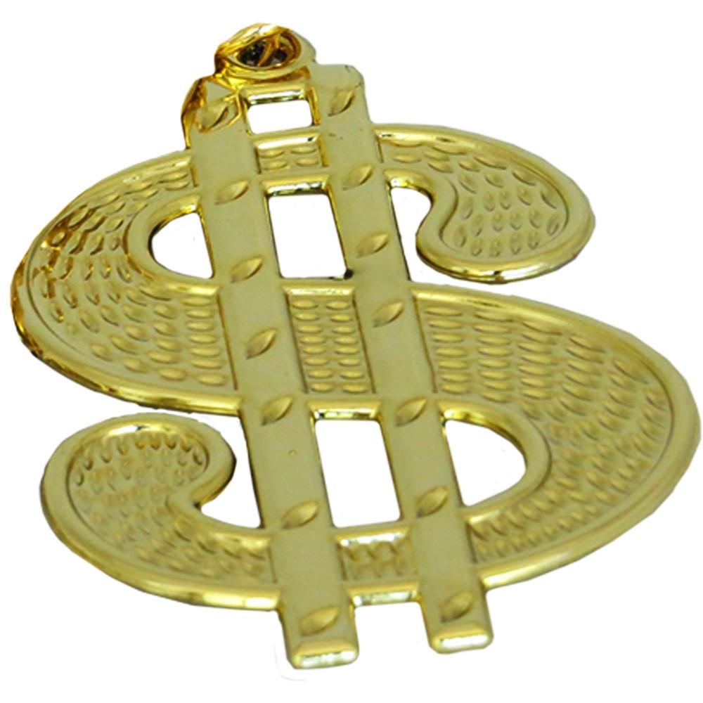 Colar Dólar Metal