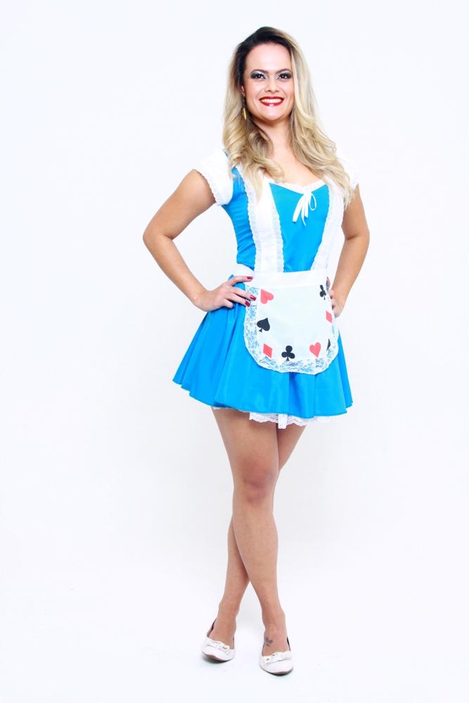 Fantasia Alice - Adulto