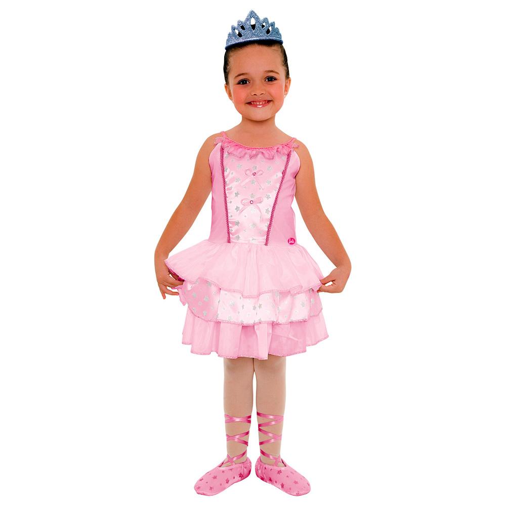 Fantasia Barbie Quero ser Bailarina Luxo - Infantil