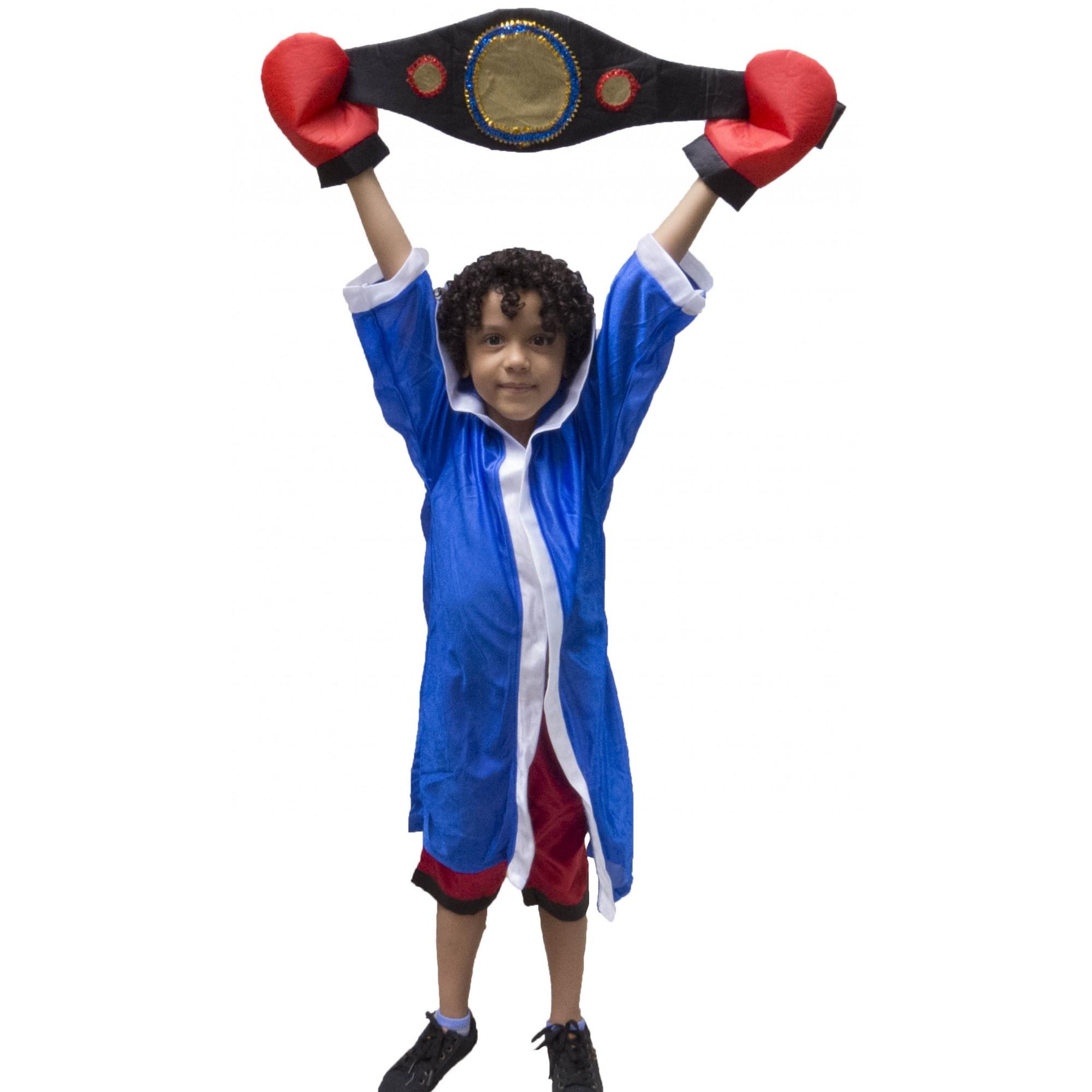 Fantasia Boxeador - Infantil