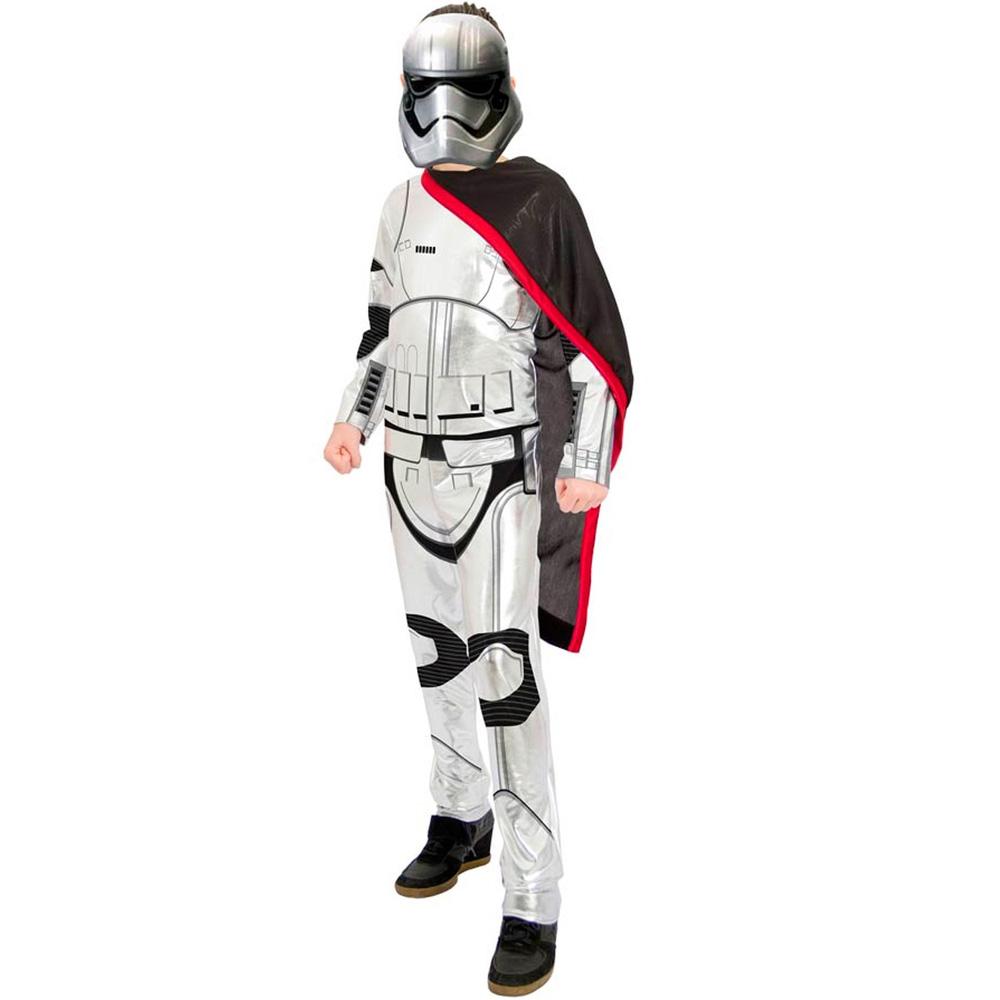 Fantasia Capitã Phasma Star Wars Longo - Infantil
