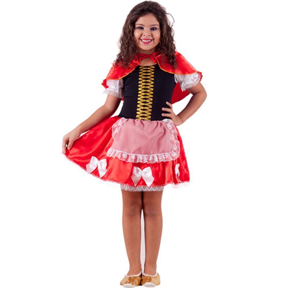 Fantasia Chapéuzinho Vermelho Alvy Infantil