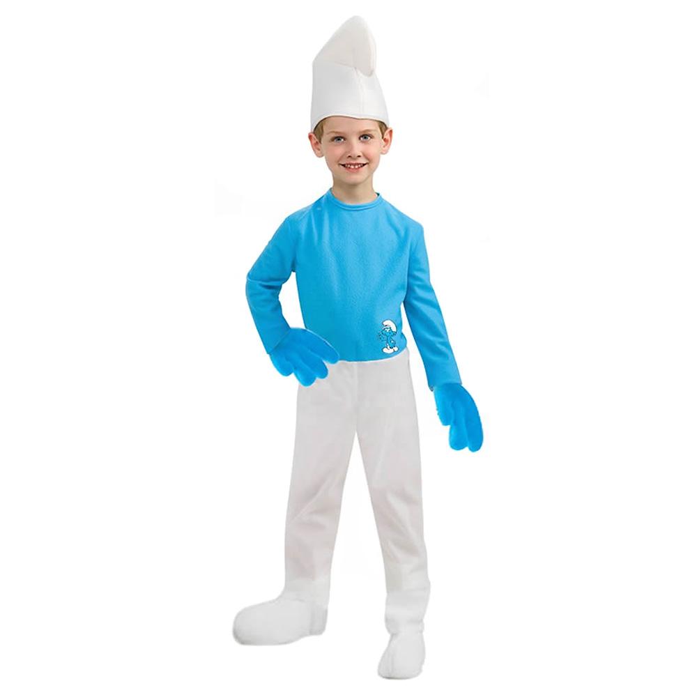 Fantasia do Filme os Smurfs Masculino - Infantil