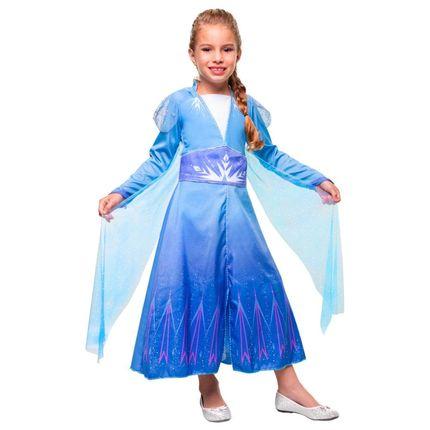Fantasia Elsa Frozen 2 Luxo