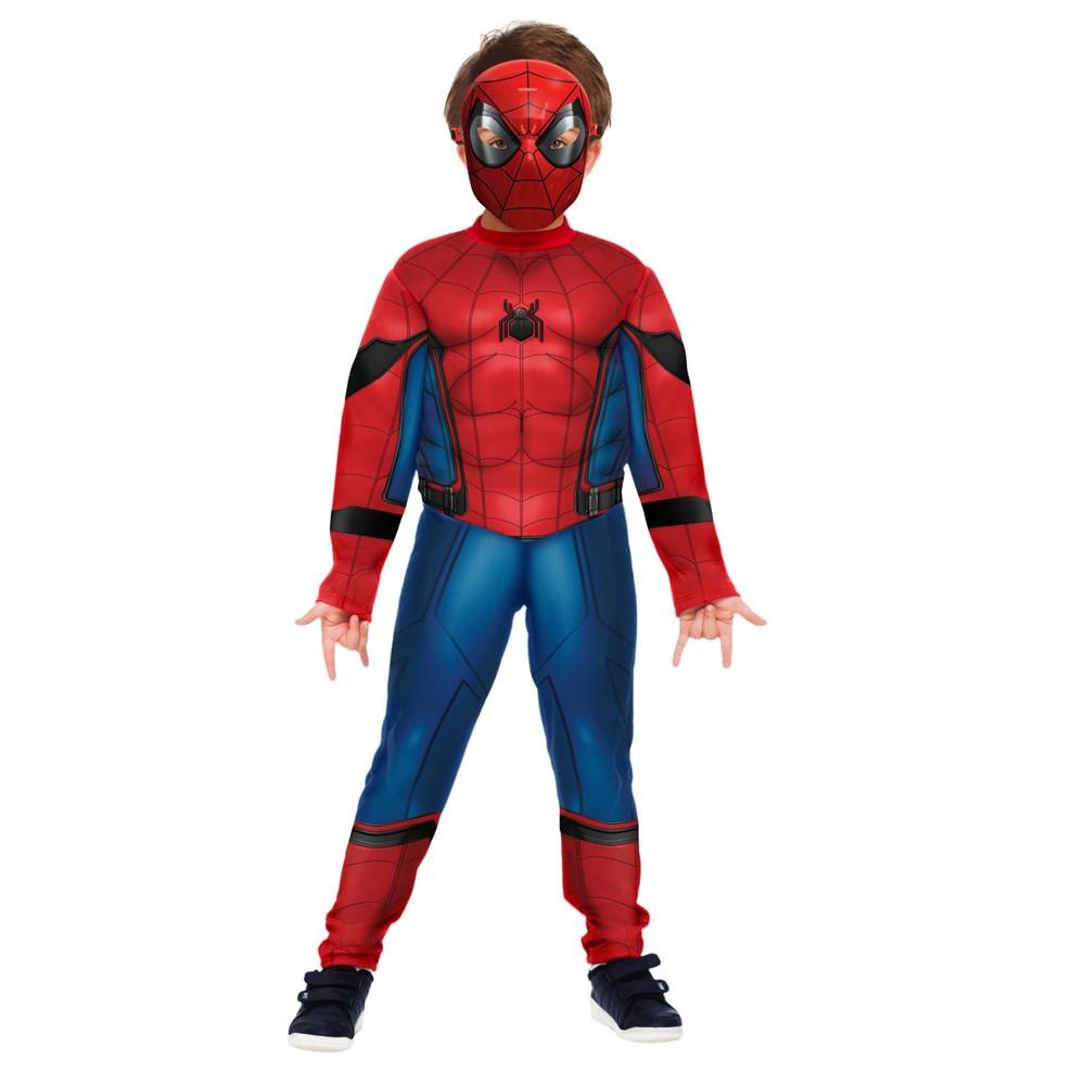 Fantasia Homem Aranha Longe de Casa Luxo - Infantil