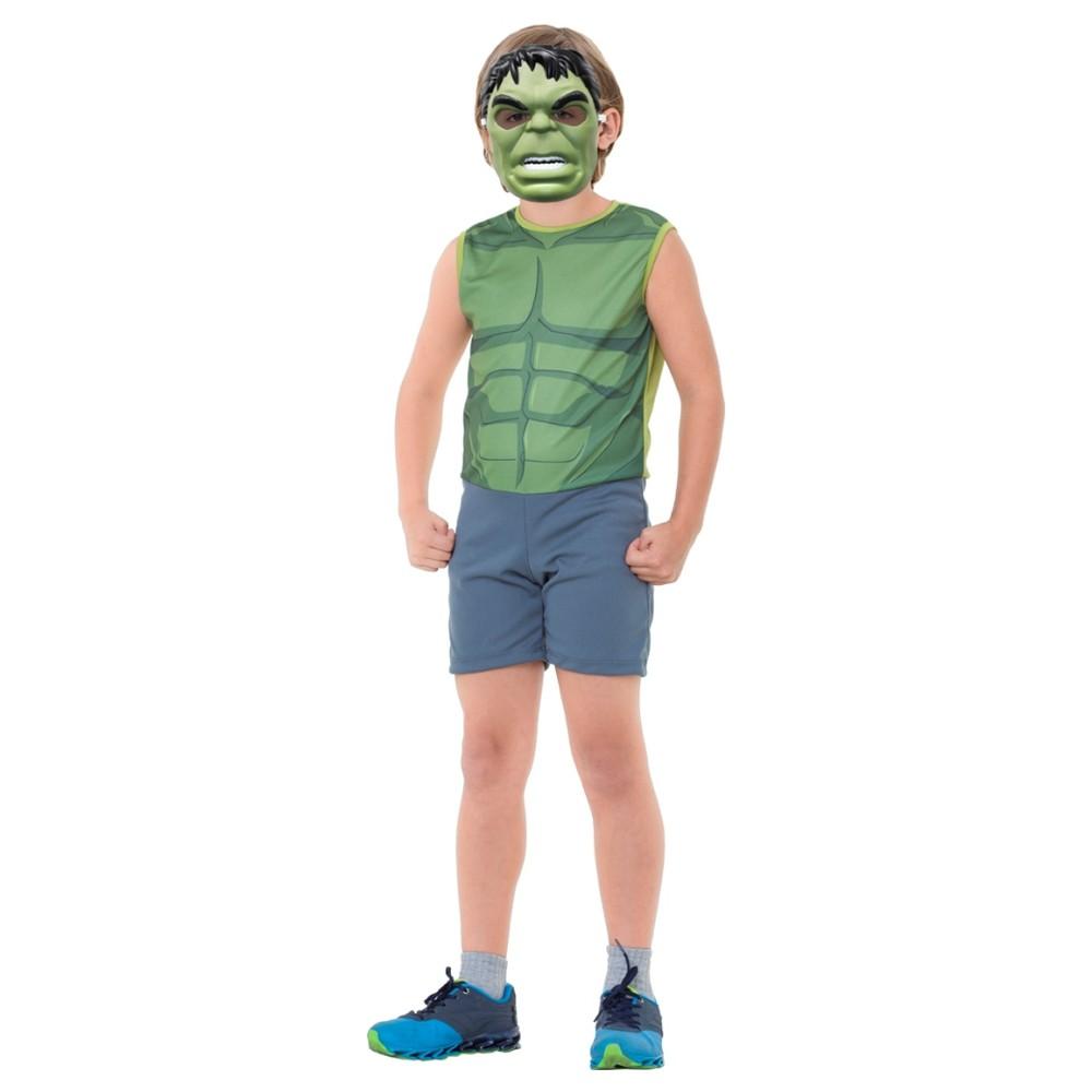 Fantasia Hulk Pop - Infantil