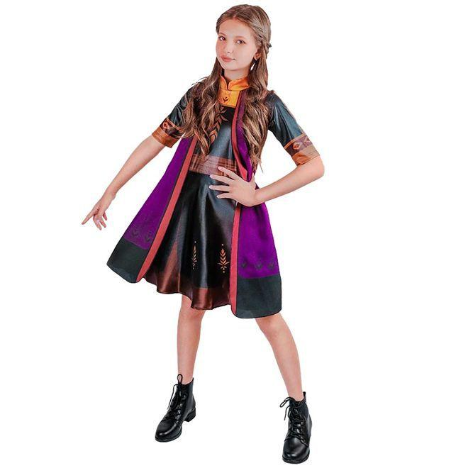 Fantasia Infantil Anna Frozen 2