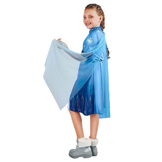 Fantasia Infantil Elsa Frozen 2