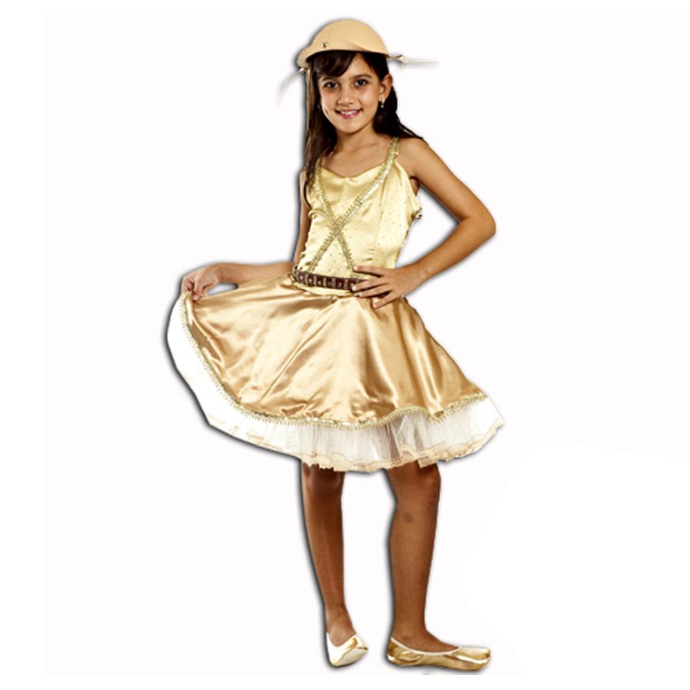 Fantasia Maria Bonita Cangaceira - Infantil