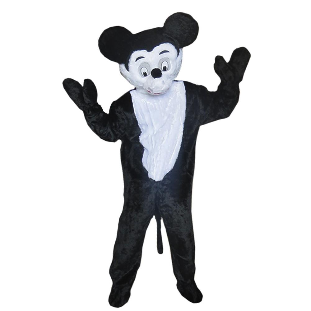 Fantasia Mickey Pelúcia Com Cabeção