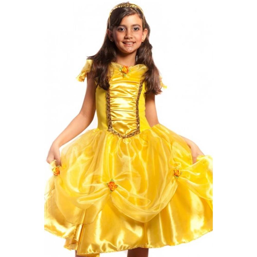 Fantasia Princesa Bela Flor Catarina - Infantil