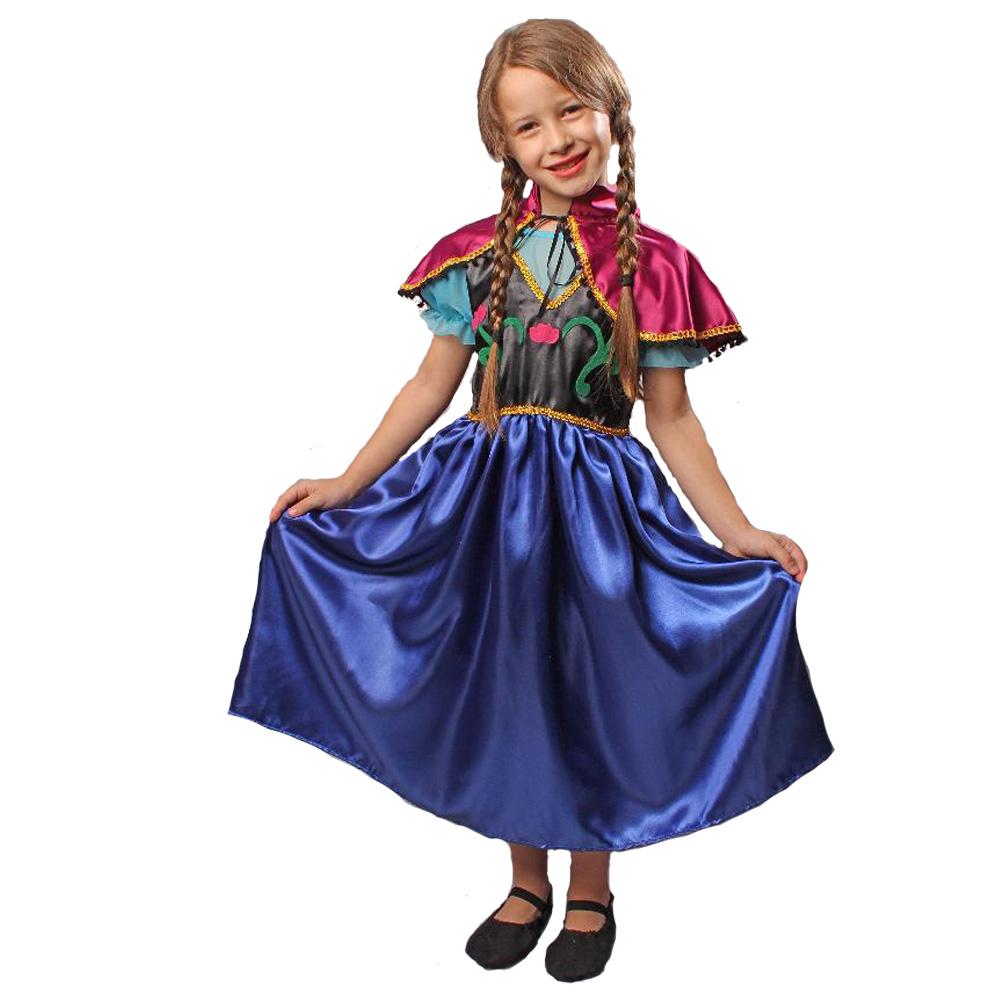 Fantasia Princesa do Gelo Ana - Infantil