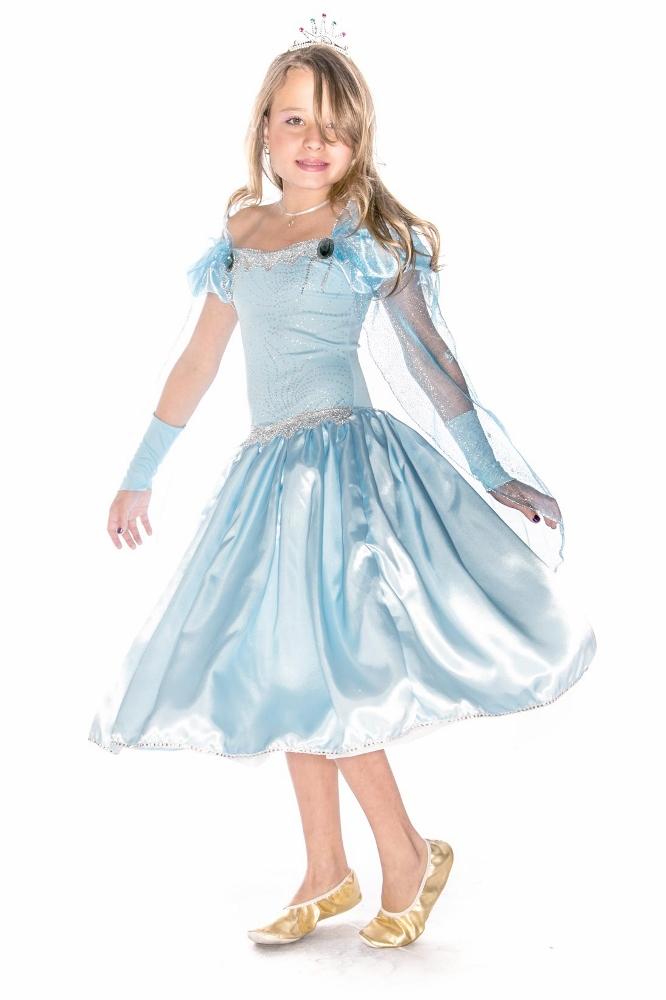 Fantasia Princesa do Gelo Glace - Infantil
