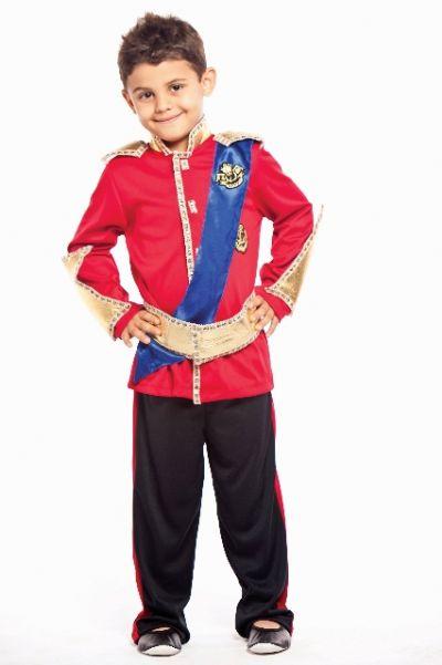 Fantasia Príncipe William - Infantil
