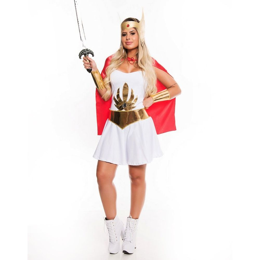 Fantasia She-Ra A Rainha do Poder - Adulto