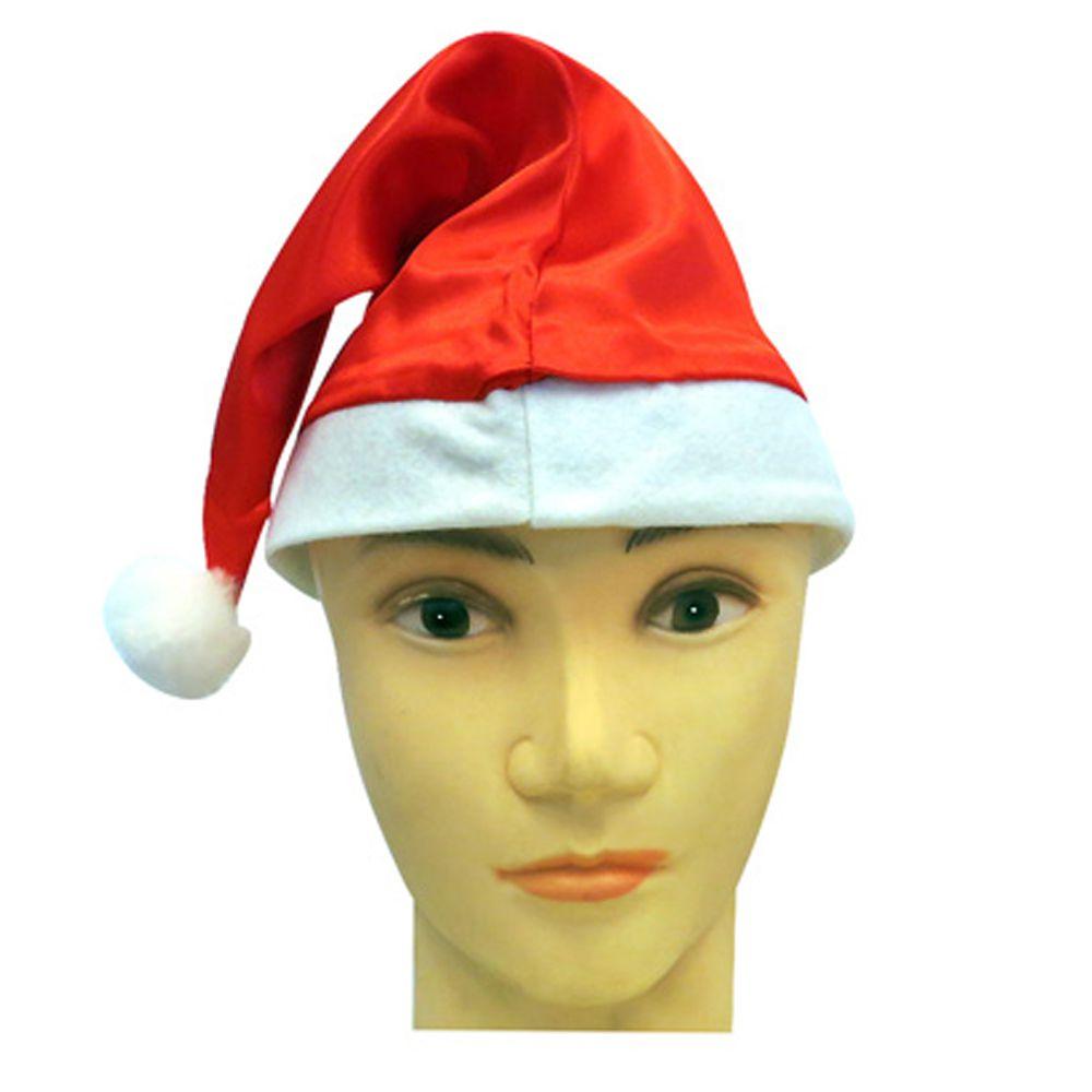 Gorro Papai Noel Simples 10 Unidades