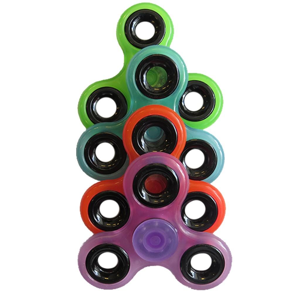 Hand Spinner Brilha No Escuro Neon - Selo INMETRO