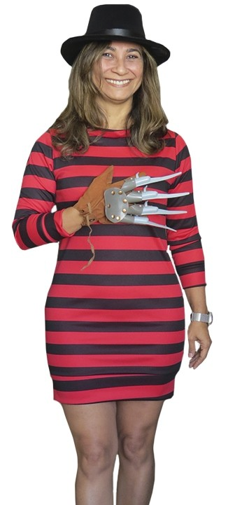 Kit Freddy Krueger Feminino