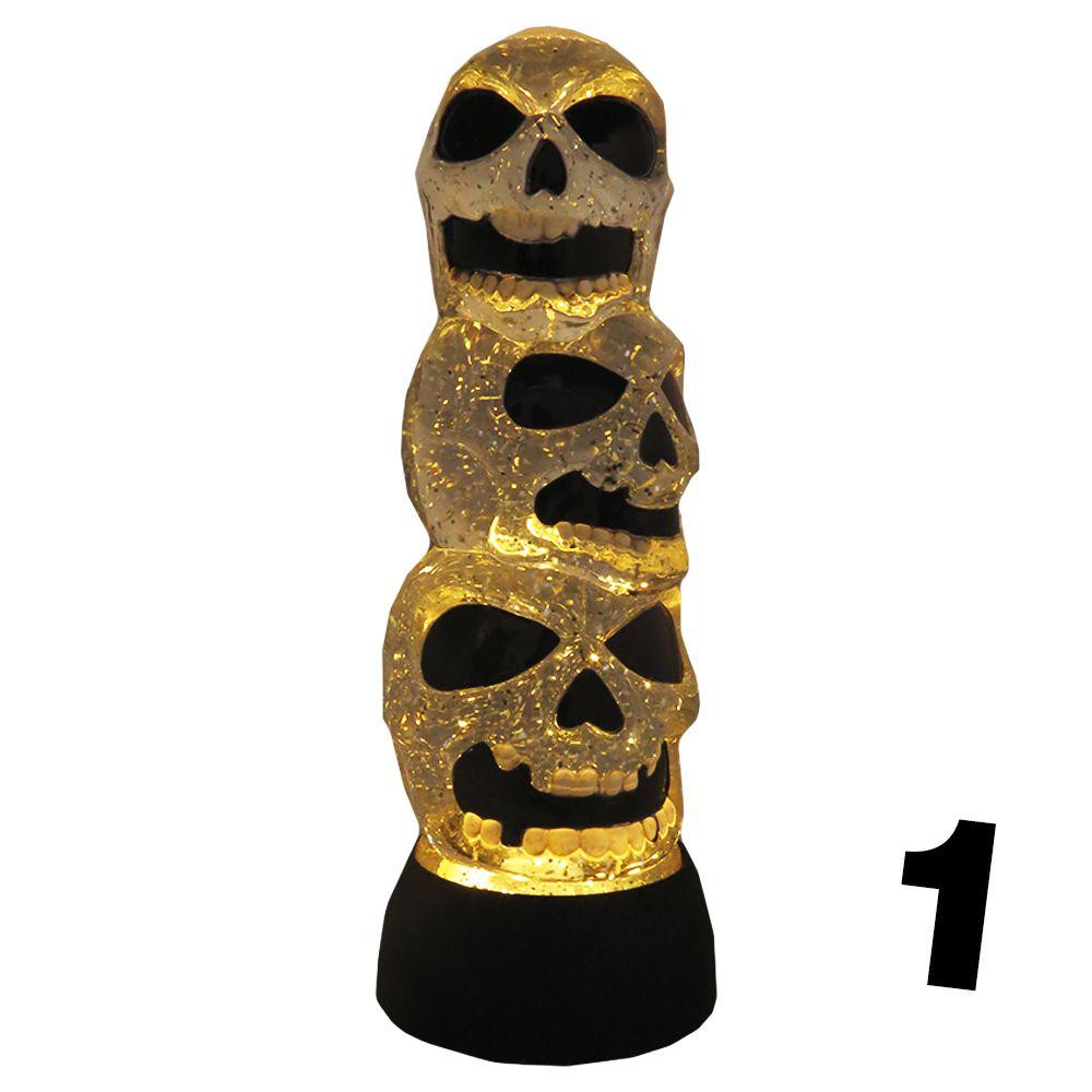 Luminária Três Cabeças a Pilha 26 cm