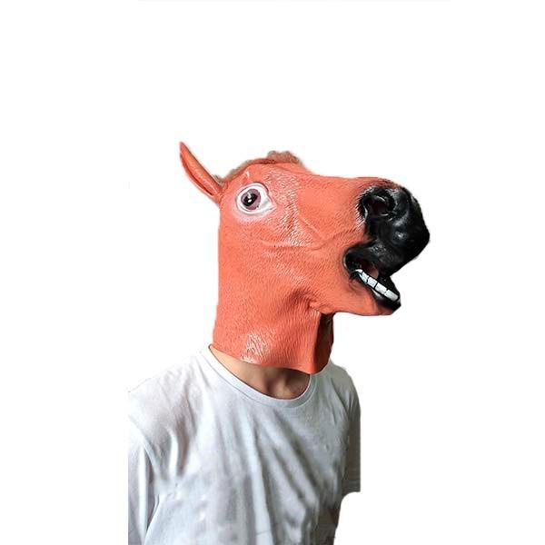 Máscara Cavalo em látex