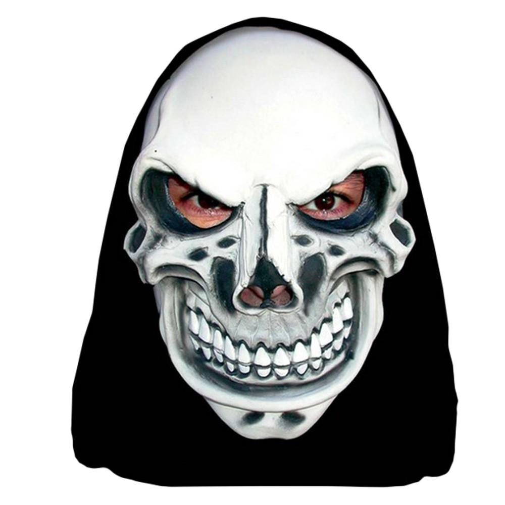 Máscara Caveira Maquiavélica Com Capuz
