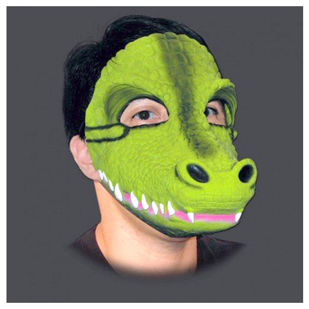 Máscara de Jacaré em Látex com Elástico