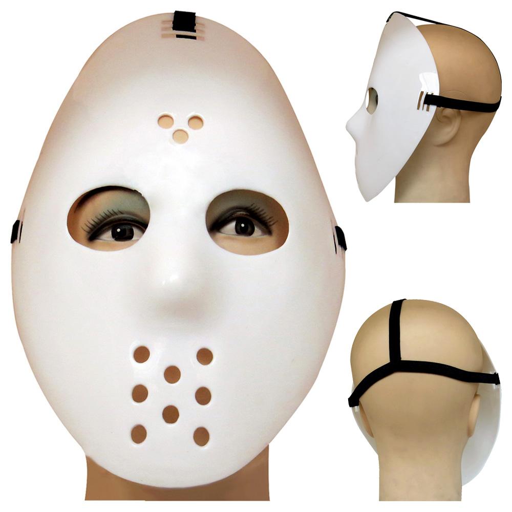 Máscara Jason Branca do Filme Sexta Feira 13