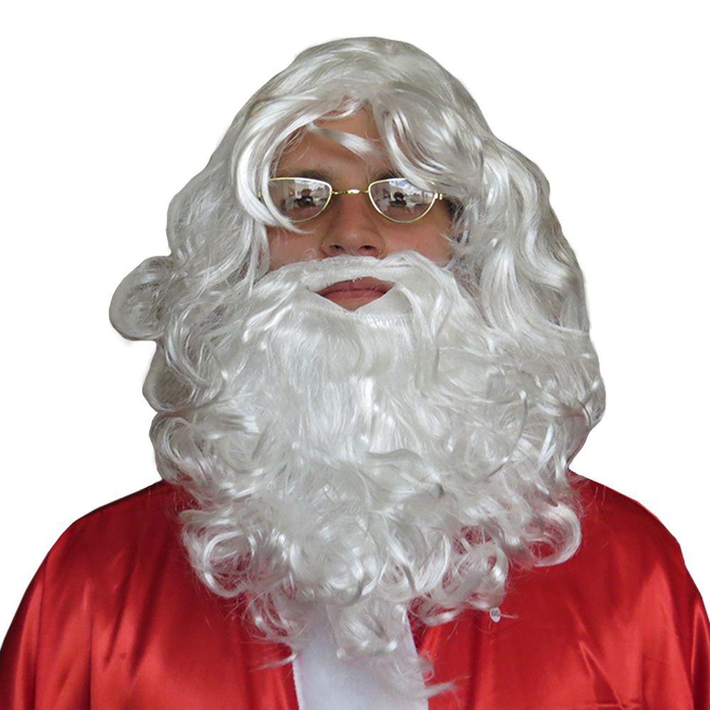 Peruca Papai Noel Com Barba