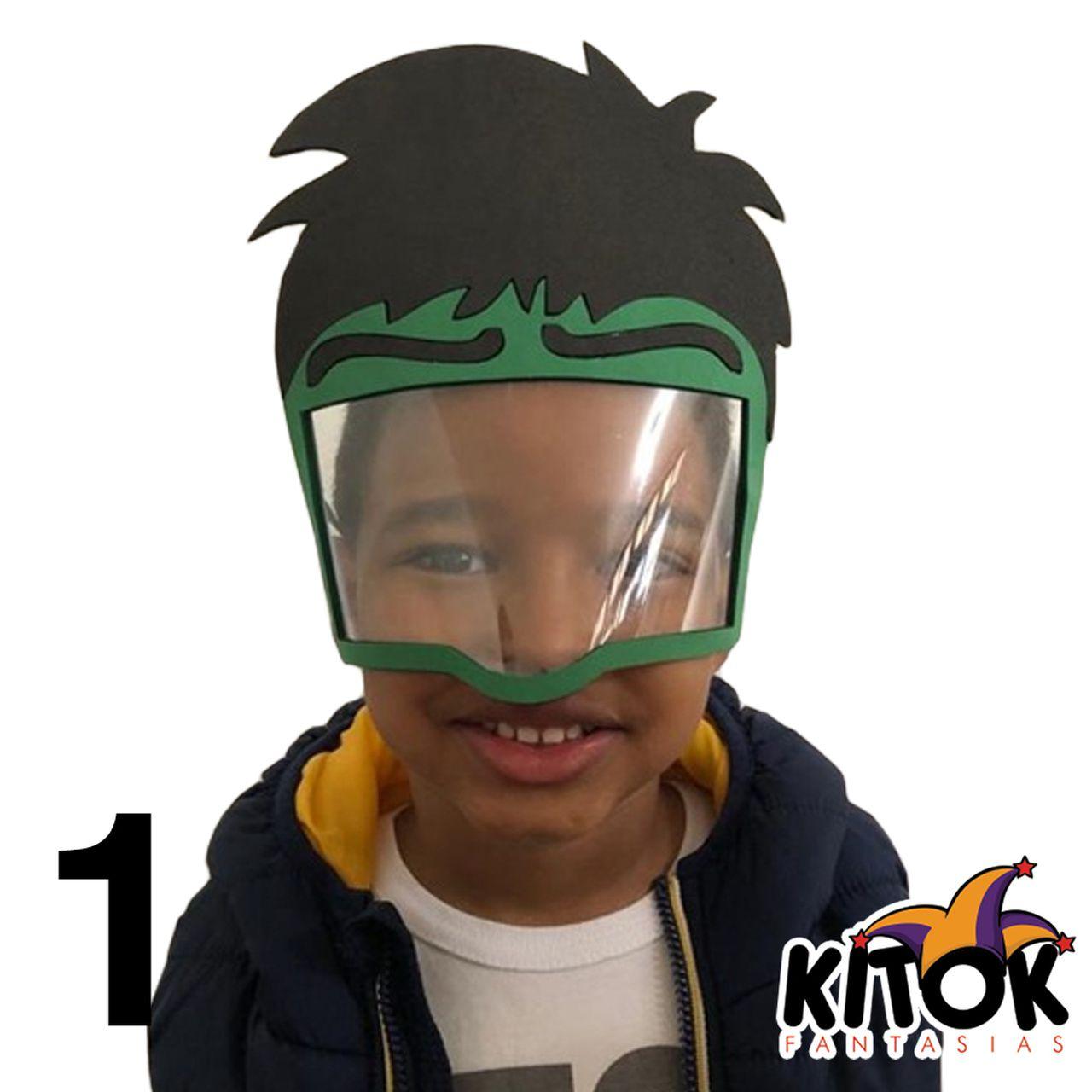 Máscara de Proteção Personagens - Infantil