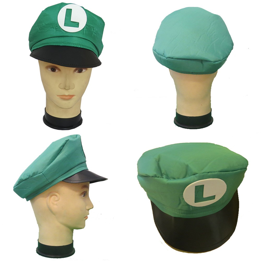 Quepe do Luigi Bros - Adulto