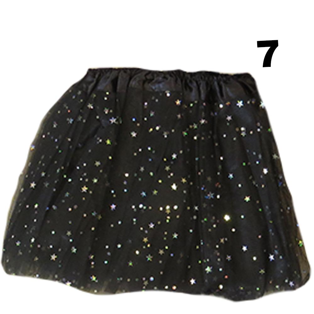 Saia TouTou em tule com Estrelas - Infantil
