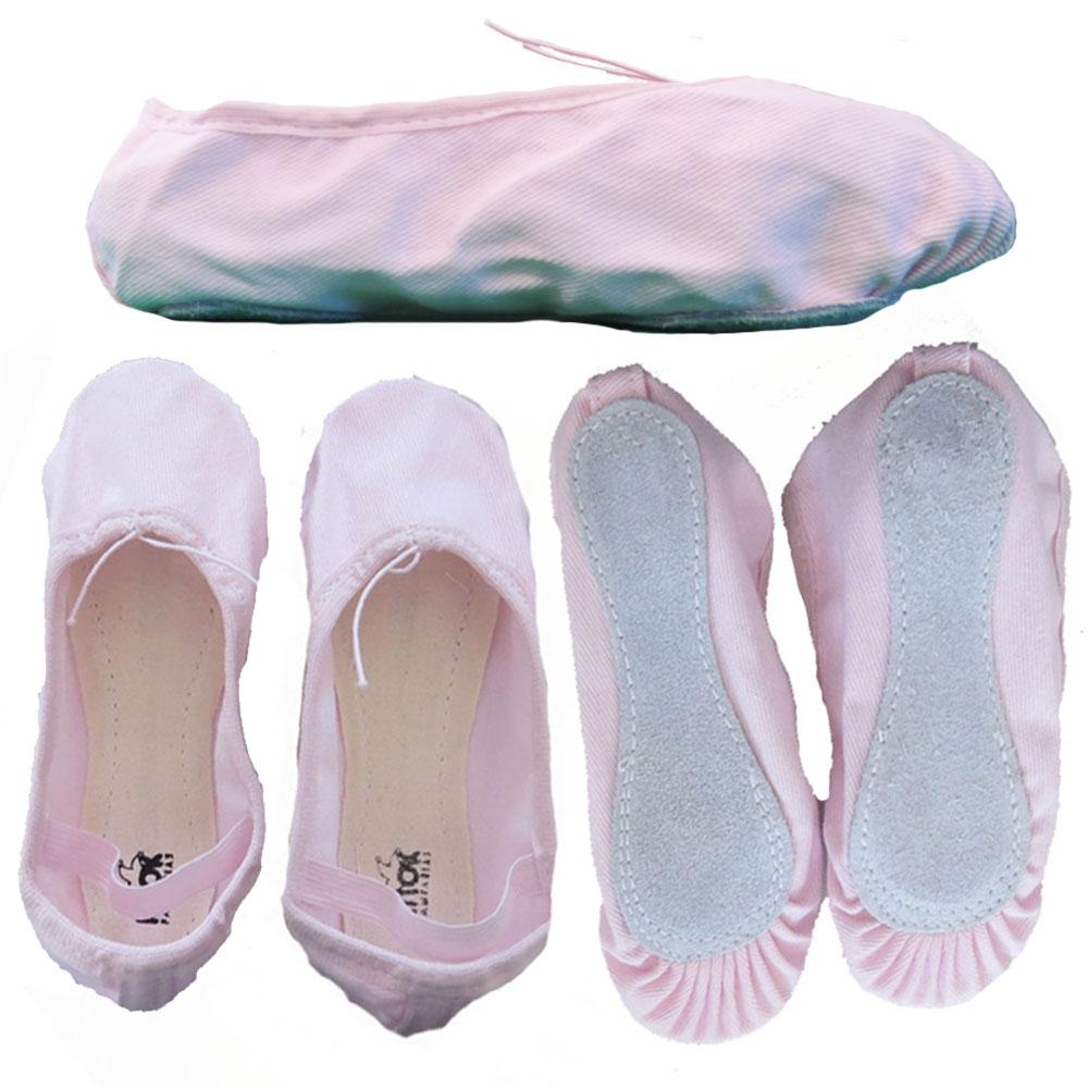 Sapatilha de Ballet - Material Lona