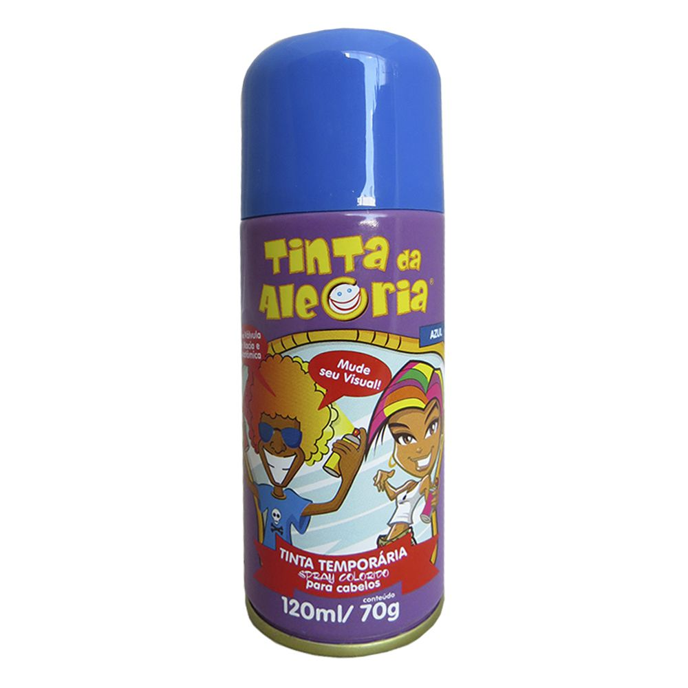Tinta Para Cabelo Spray 120ML