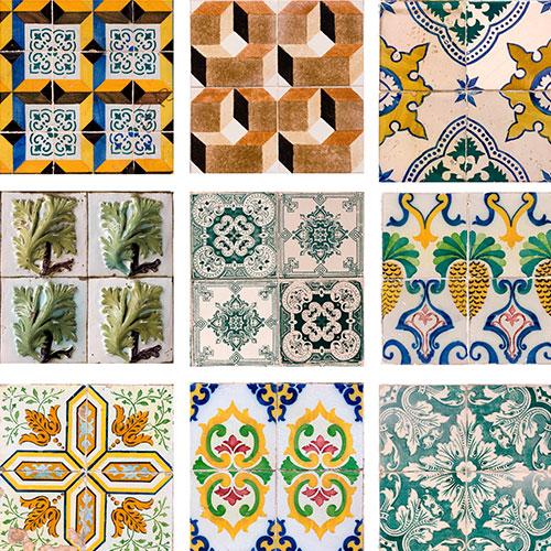 azulejo pvc laminado autocolante mosaico ramos