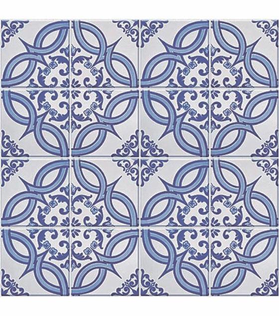Azulejo pvc laminado autocolante azulejo portugu s - Copia de azulejos ...