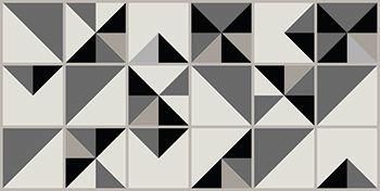 Kit de Ladrilho decorativo Autocolante KITCAS07 18 Peças 15cm x 15cm