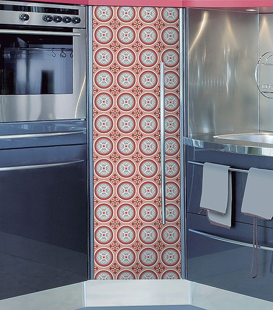Kit de Ladrilho decorativo Autocolante - Heather (18 Peças - 15cm x 15cm)