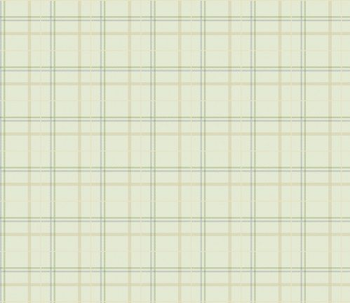 Papel de Parede Infantil Kan Tai  TNT Coleção Baby Charmed Xadrez Verde Claro, Bege, Azul, Verde