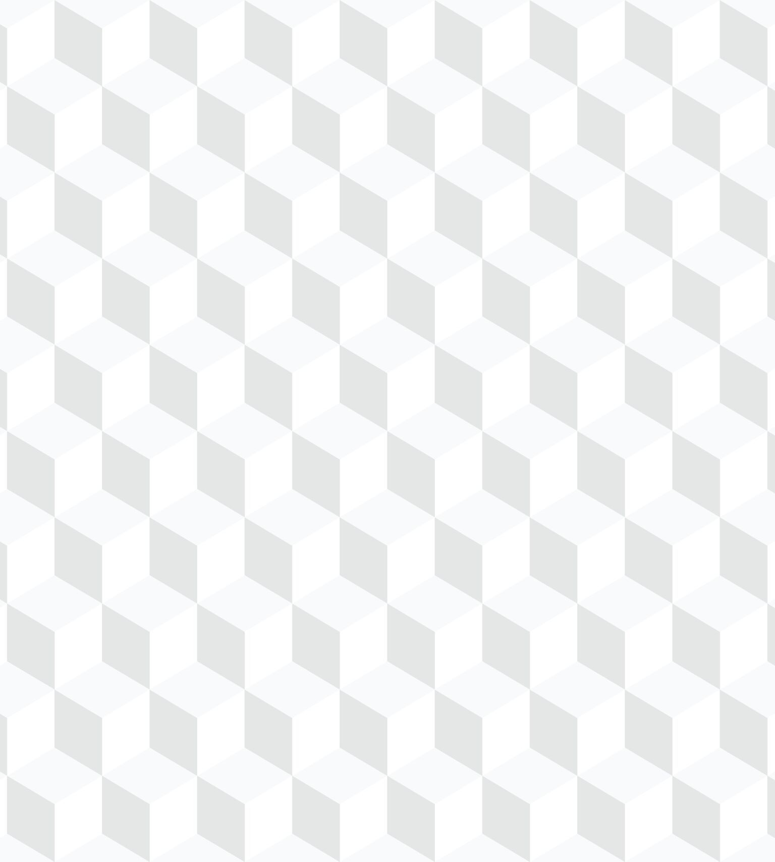 Papel de Parede Infantil Bobinex Vinílico Coleção Brincar Geométrico Cinza, Branco, Creme